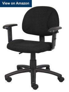 Boss Office Products Perfect Posture Delux Fabric Task Chair