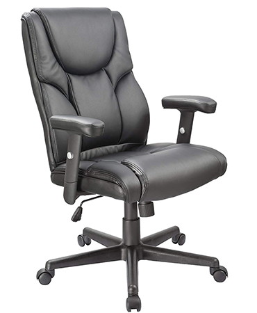 OFFICE FACTOR Leather Executive Office Chair