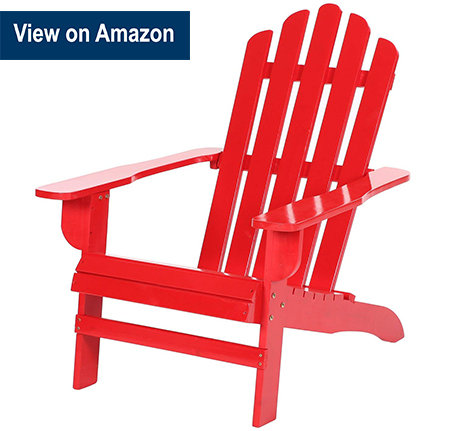 Azbro Outdoor Wooden Fashion Adirondack chair