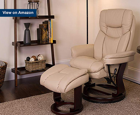 Flash_Furniture_Beige_Leather_Recliner_Chair