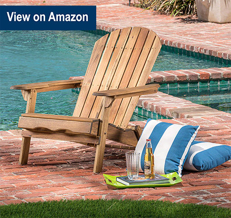 Great Deal Denise Austin Home Wood Adirondack Chair