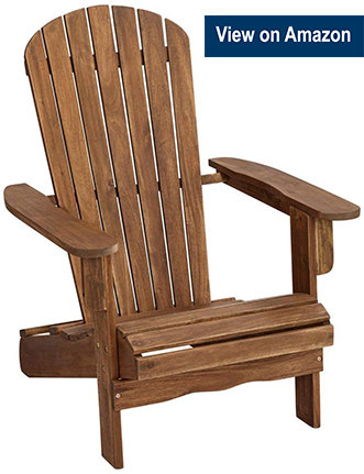 Teal Island Cape Cod Wood Adirondack Chair