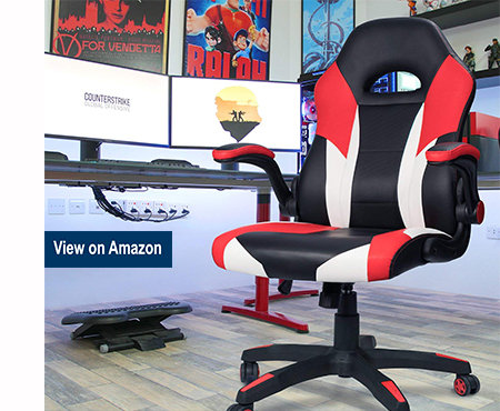 Homall Gaming Chair Racing Chair Ergonomic Computer Chair