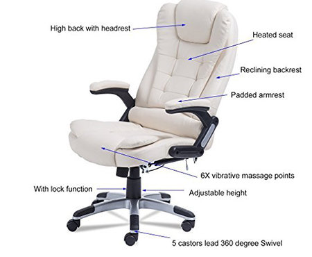 Homgrace Swivel Gaming Massage Chair