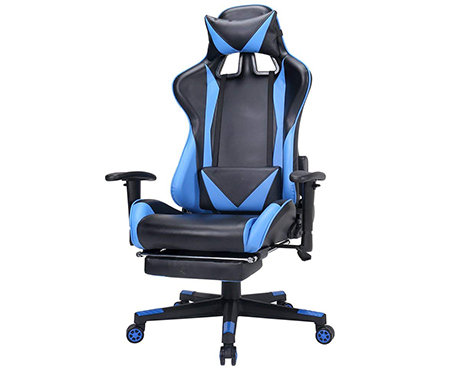 Zenith High Back PU Leather Swivel Gaming Chair