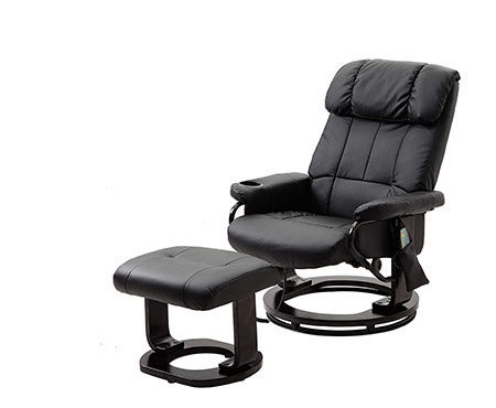 Massage Leather Recliner