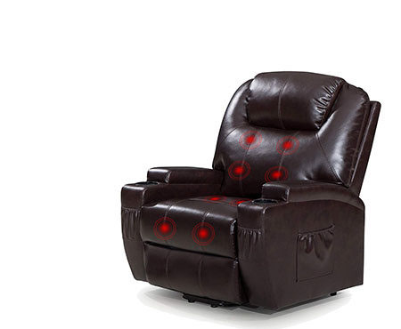 Power Lift Recliner Sofa
