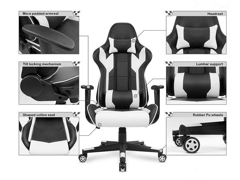 Homall Gaming Chair Racing office