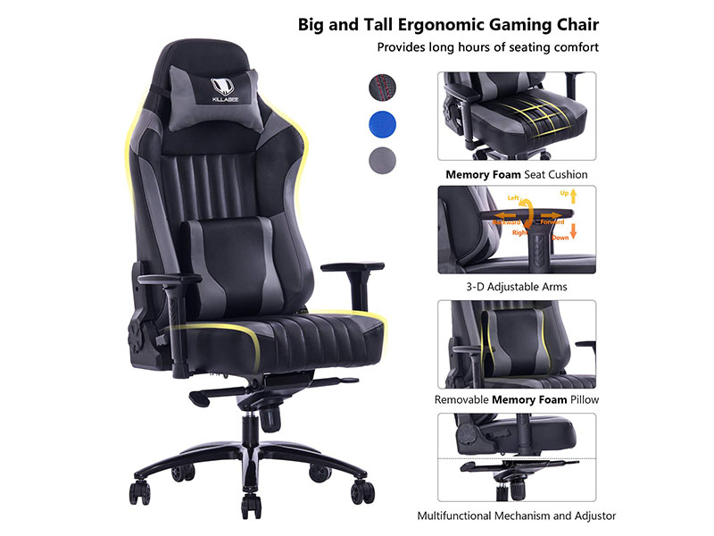 Memory Foam Gaming Chair