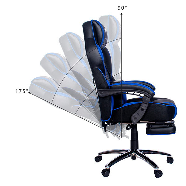 Topsky gaming chair 175 degree moveable