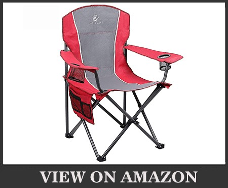 ALPHA CAMP Oversized Camping Folding Chair