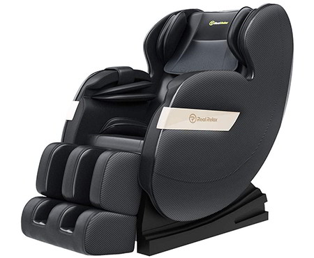 Real Relax Massage Chair, Full Body Zero Gravity Shiatsu