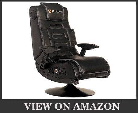 X Rocker Pro Series 2.1 Vibrating Black Video Gaming Chair