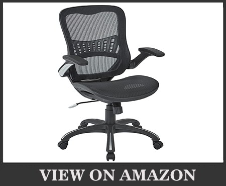 Office Star Mesh Back Seat & Lumbar Support Managers Chair