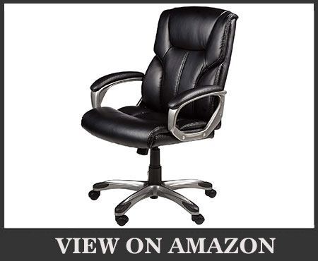 AmazonBasics High-Back Office Desk Chair