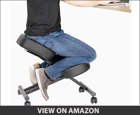 DRAGONN (by VIVO) Ergonomic Kneeling Chair