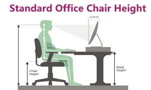 What is the Standard Office Chair Height?