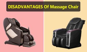 disadvantages of massage chairs