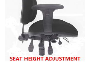 office chair height adjustment