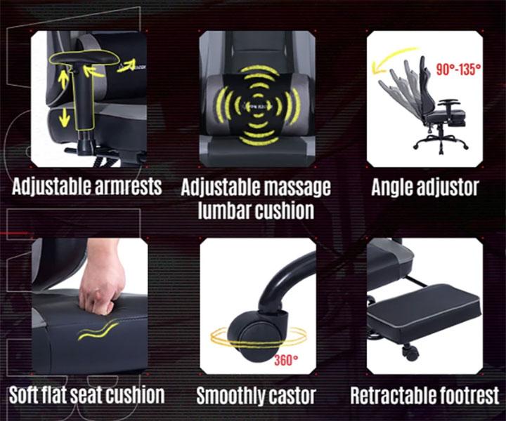 von racer chair quick overview