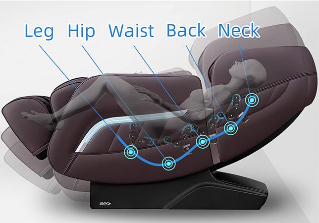 irest massaging chair