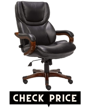 Serta Big and TallWood Accents Office Chair